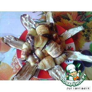 Готовим простой рецепт приготовления с фотографиями Рулетики из баклажанов