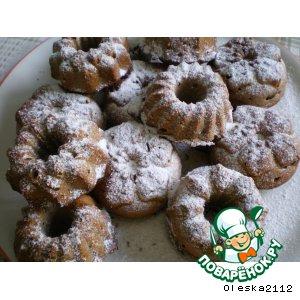 Рецепт Кекс медово-фруктово-ореховый