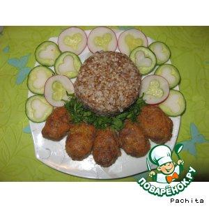 Рецепт Котлеты из тыквы и телятины