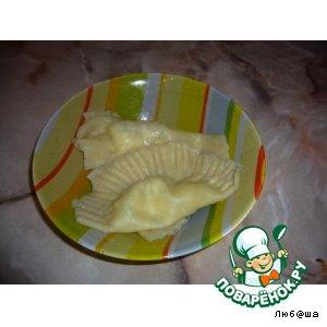 Рецепт Квари  -  вареники с сыром