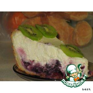 Нежнейший творожный торт с вишней простой рецепт приготовления с фото пошагово