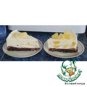 Рецепт Творожно-ананасовый торт