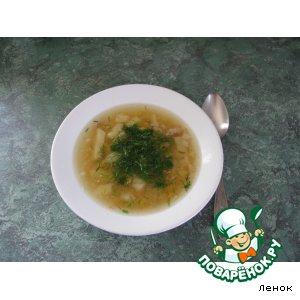 Рецепт Суп гороховый с беконом