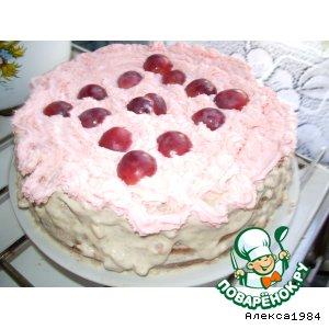 """Рецепт """"Виноградный"""" тортик"""