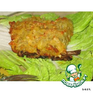 Рецепт Мясо под картофельной крышкой