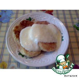 Рецепт Сладкие сырники