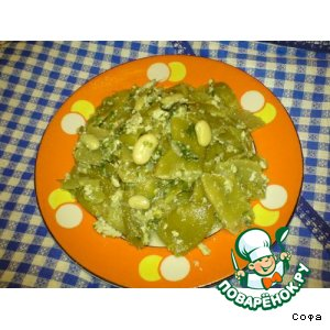 Рецепт Зеленая фасоль с маслом и яйцом