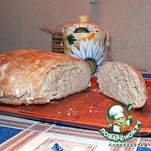 Рецепт Ржано-пшеничный хлебушек