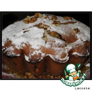 Рецепт Кекс с кусочками мандарина и шоколадом