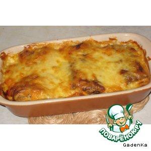 Рецепт Заварные блинчики в сырной корочке