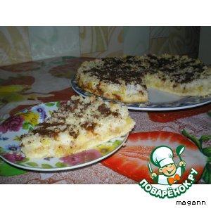 Рецепт Кокосово–ананасовый пирог