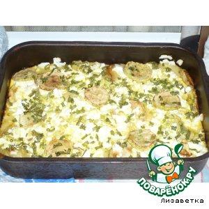 Рецепт Запеканка из макарон и кабачков