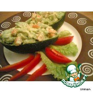 Авокадо с креветками домашний рецепт приготовления с фото пошагово как готовить