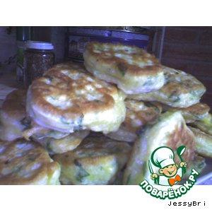 Рецепт Зеленые беляшики