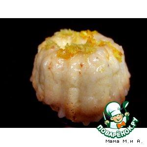Рецепт Лаймовые кексы под лаймовой глазурью