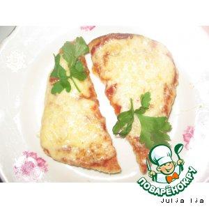 """Рецепт Горячие бутерброды """"Привет из детства"""""""