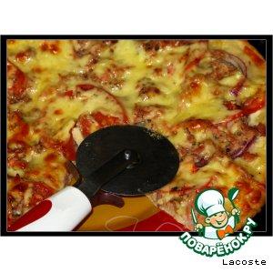 Рецепт Пицца с тунцом