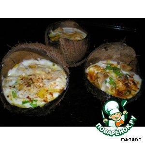 Рецепт Куриное филе «Тропический рай»