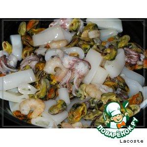 Рецепт Паста с морепродуктами