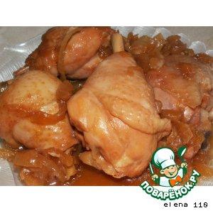 Рецепт Курица по-японски