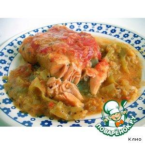 Рецепт Овощной соус с рыбой