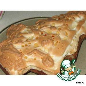Рецепт Ореxовый торт с белковым кремом
