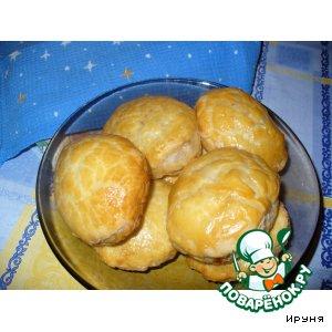Рецепт Слоеные пирожки с курицей