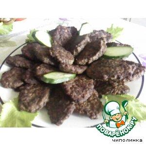 Рецепт Котлетки из индюшиной печени