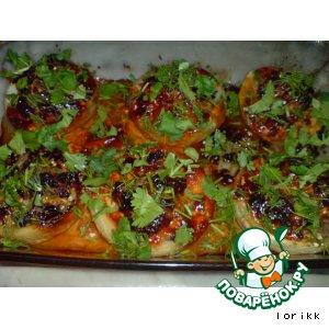 Рецепт Фаршированные артишоки в майонезно-томатном соусе