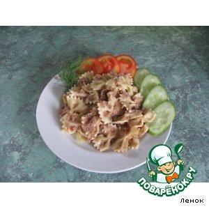 Рецепт Быстрый ужин из макарон