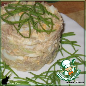 Рецепт Салат куриный с рисом