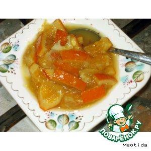 Варенье апельсиново-лимонное домашний пошаговый рецепт с фото как приготовить