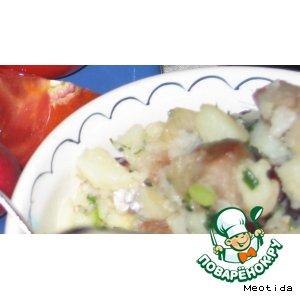 Рецепт Селедочный салат