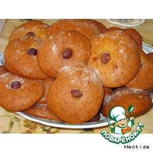 Рецепт Печенье медовое c фундуком