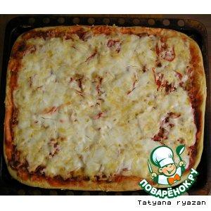 Как приготовить Пицца вкусный рецепт с фото