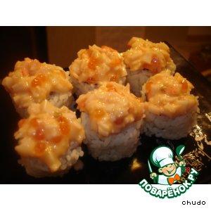 Суши - урамаки