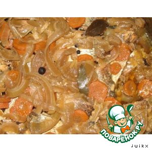 Рецепт Рыбные консервы из сковородки