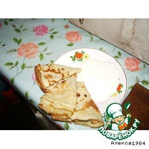Рецепт Бабушкины блинчики