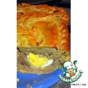 Яблочный пирог за 5 минут - пошаговый рецепт с фото на ...
