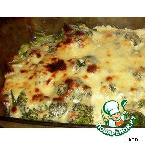 Брокколи под сырным соусом простой рецепт с фото пошагово готовим