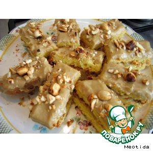 Рецепт Пирожное кофейно-ореховое