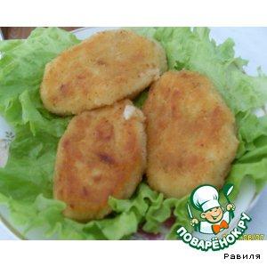 Рецепт Картофельно-капустные котлетки