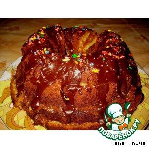 Мраморный кекс домашний рецепт с фото пошагово готовим