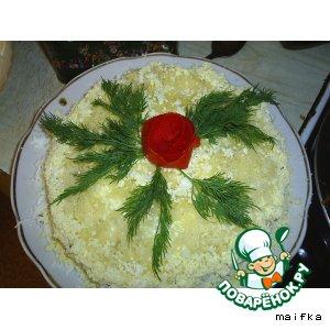 Готовим Печеночный торт рецепт с фото