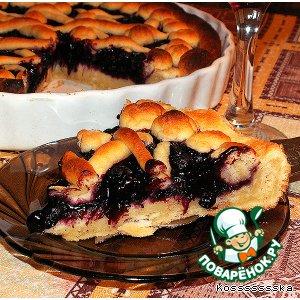 Готовим простой рецепт приготовления с фото Ягодный пирог на скорую руку на Новый Год