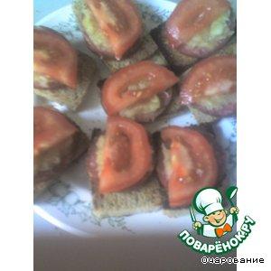 "Рецепт Бутерброды ""Яблочник"""