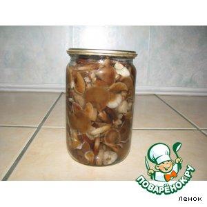 Грибочки маринованые вкусный рецепт приготовления с фотографиями пошагово готовим на Новый Год