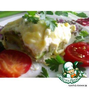 Рецепт Запекнка картофельная с кабачками