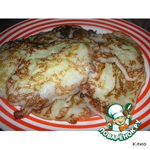 Рецепт Кабачковые сладкие оладушки