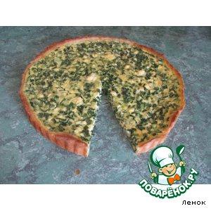 Луковый пирог домашний рецепт приготовления с фото пошагово